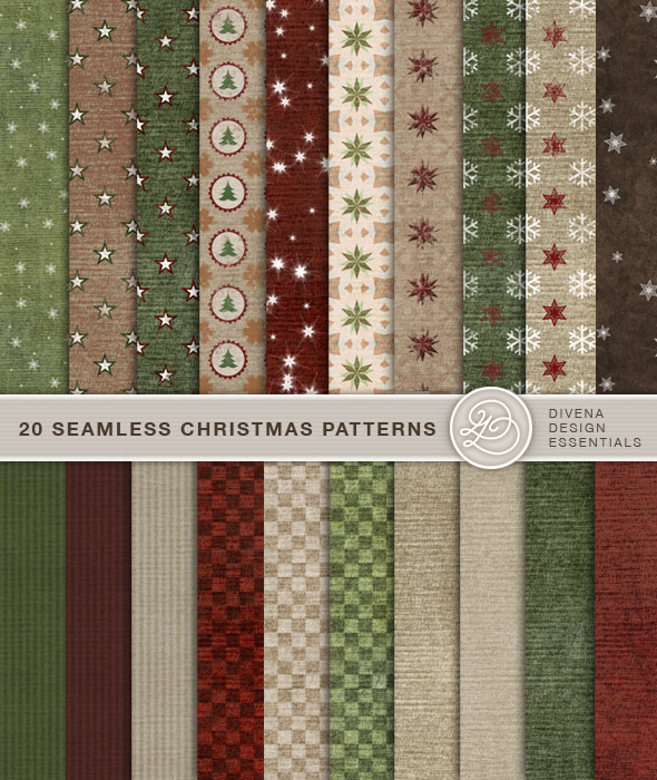 20 Latest Useful Free Photoshop Pattern Sets for Designers 4