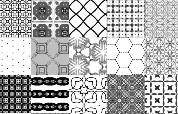 20 Latest Useful Free Photoshop Pattern Sets for Designers 5