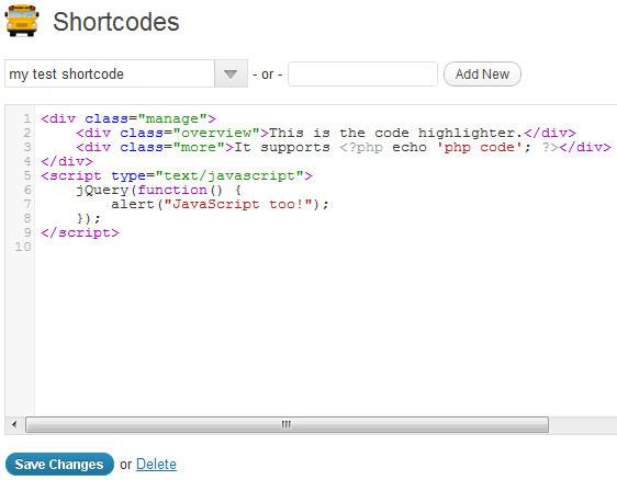10 Useful WordPress Shortcode Plugins 5