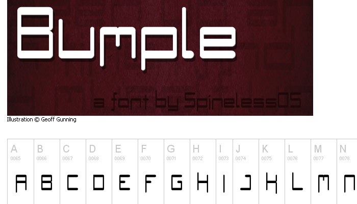 20 Fresh New Free Fonts for Designers 16