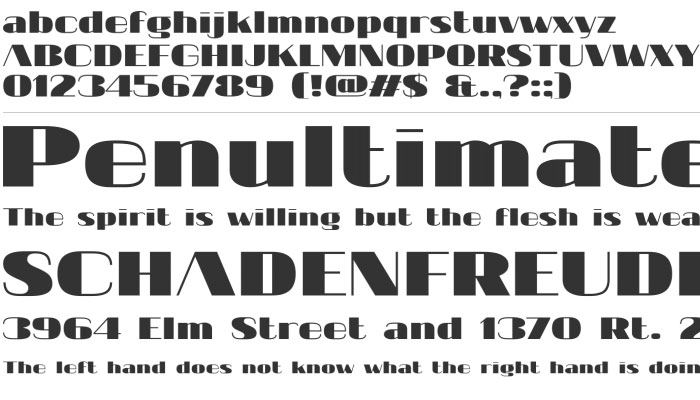 20 Fresh New Free Fonts for Designers 5