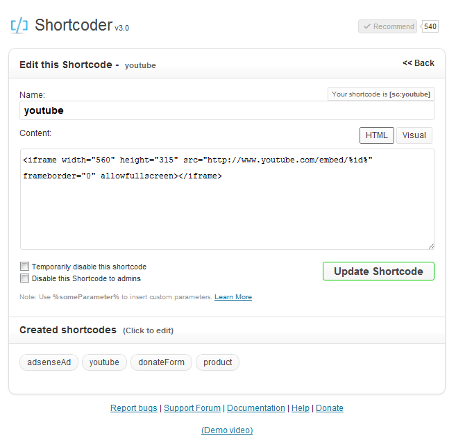 20 Useful Free and Premium Shortcode Plugins for WordPress 1