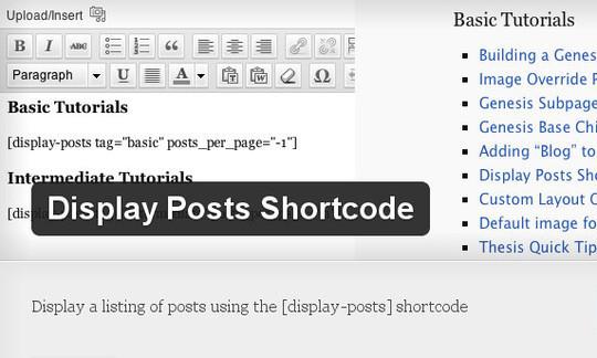 20 Useful Free and Premium Shortcode Plugins for WordPress 8