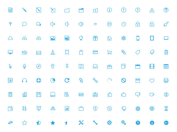 15 Useful Free Icon Fonts for Designers