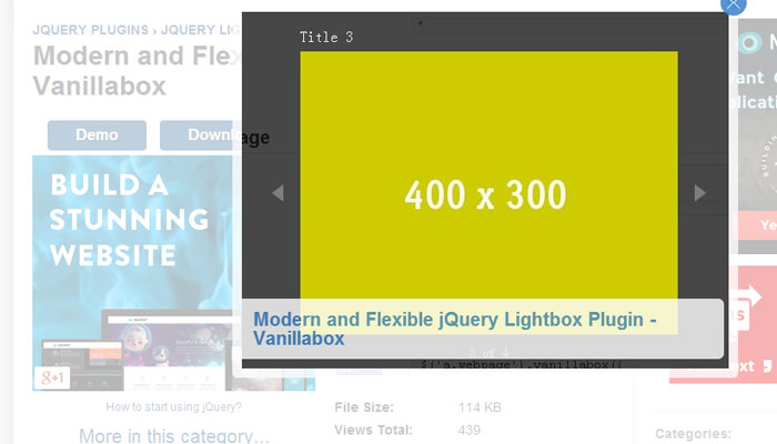 10 Effective jQuery Lightbox Plugins 7