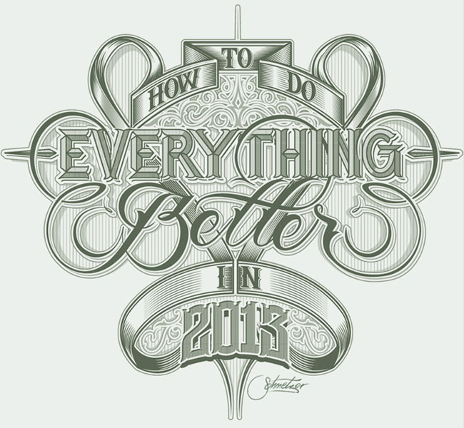 20 Excellent Examples of Typography Sketches for Designers Inspiration