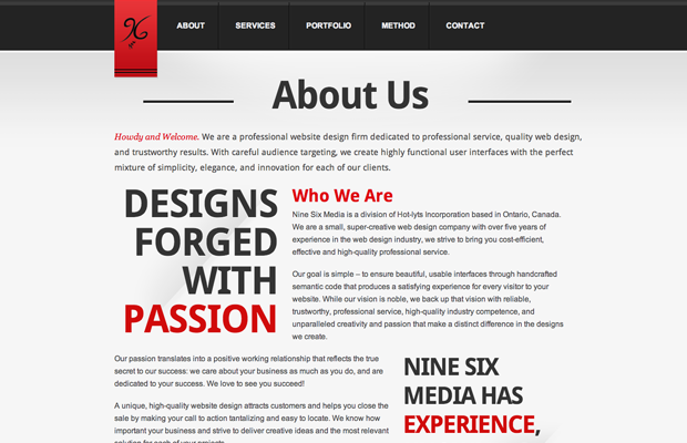 10 Most Inspiring About Us Page Collection for Designers