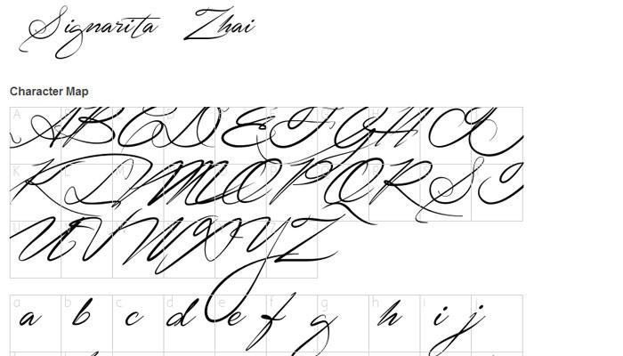 20 Free Script Fonts for Designers 16