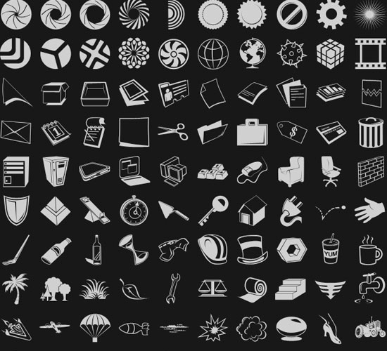 20 Most Useful Custom Shapes for Photoshop Users 13