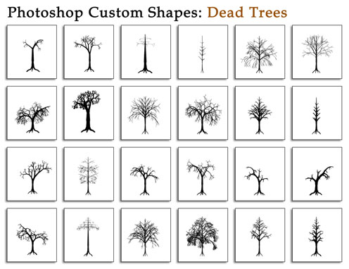 20 Most Useful Custom Shapes for Photoshop Users 5
