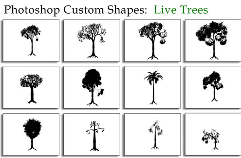 20 Most Useful Custom Shapes for Photoshop Users 6