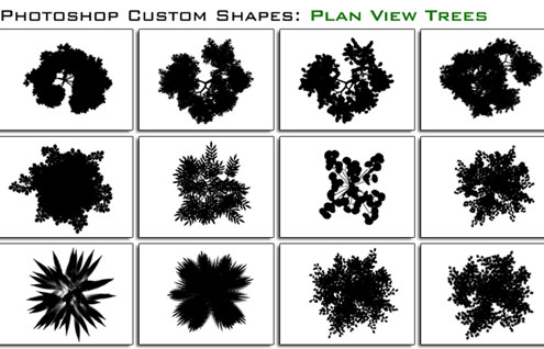 20 Most Useful Custom Shapes for Photoshop Users 7