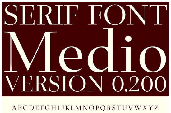 20 Fresh Free Font for Web Designers 1