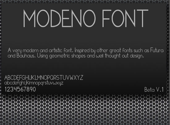20 Fresh Free Font for Web Designers 9