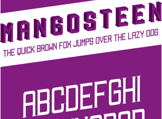 20 Fresh Free Font for Web Designers 13