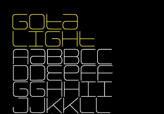 20 Fresh Free Font for Web Designers