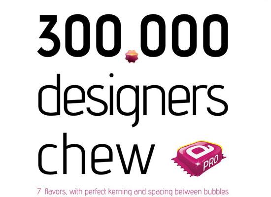 20 Fresh Free Font for Web Designers 5