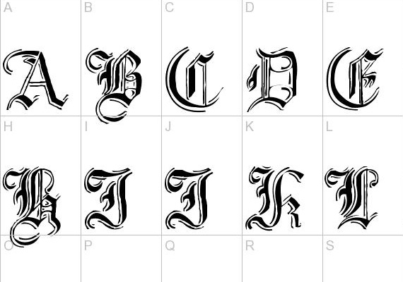 Useful Free Fonts for Photoshop Users 12