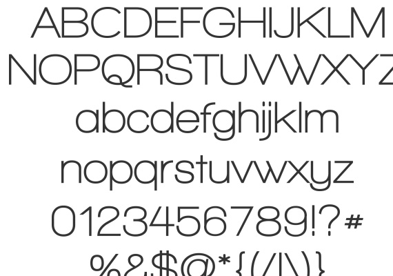 Useful Free Fonts for Photoshop Users 18