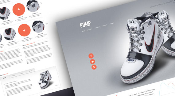 20 Creative PSD Website Templates for Free Download 4