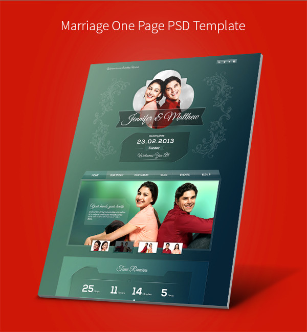 Wedding and Edge PSD Templates
