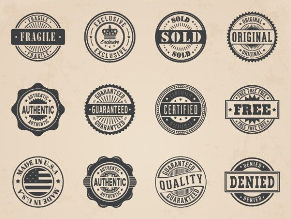 Business Vector Badges