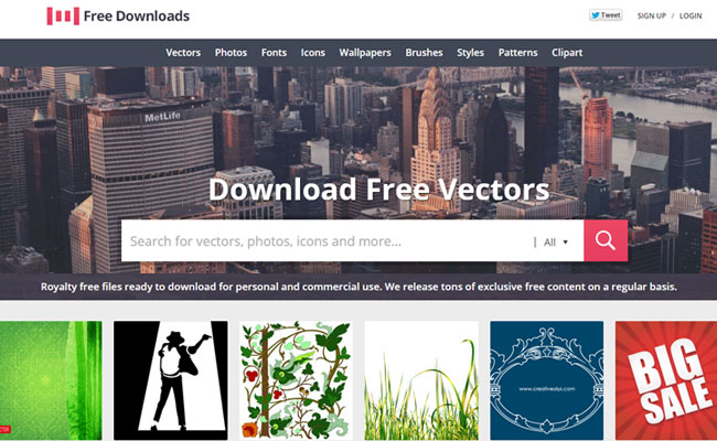 1001freedownloads.com – A Free Resource for Web Designers