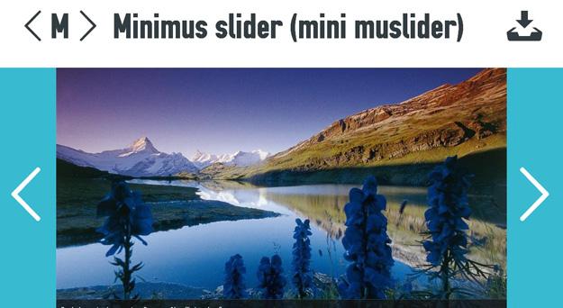 Minimus Slider