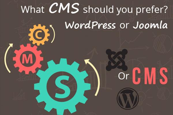 What CMS should you prefer? WordPress or Joomla