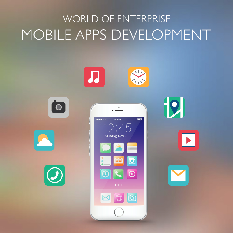 The World Of Enterprise Mobile Apps Development