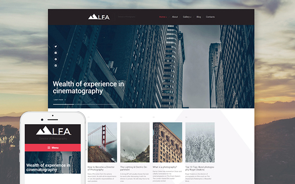 30+Design and Photography WordPress Themes of This Year