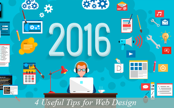 4 Useful Tips for Web Design