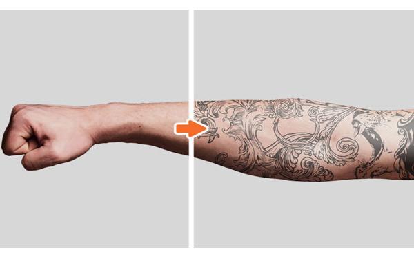 Getting Tattooed in Photoshop