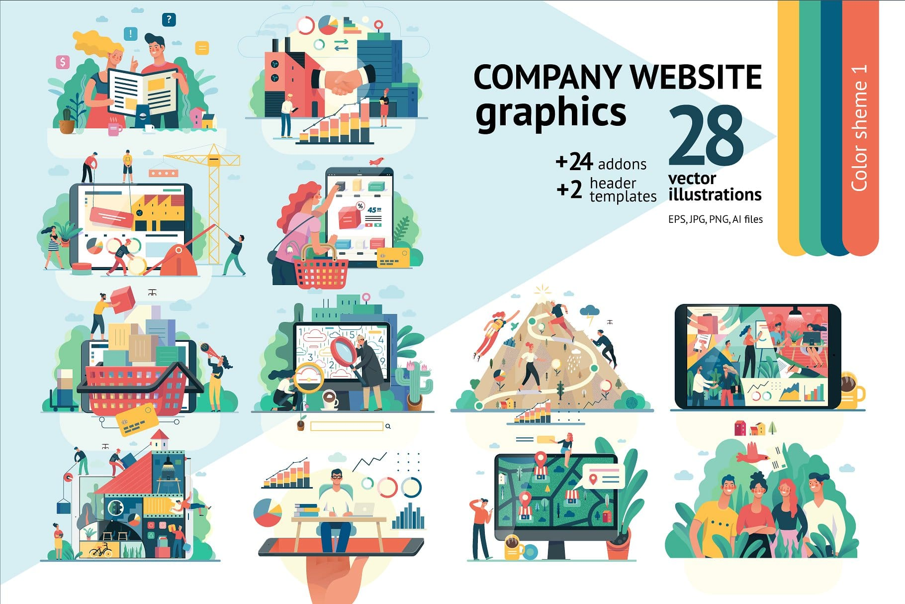 10 Premium Vector Graphics from CreativeMarket.com - Feb 2019 5